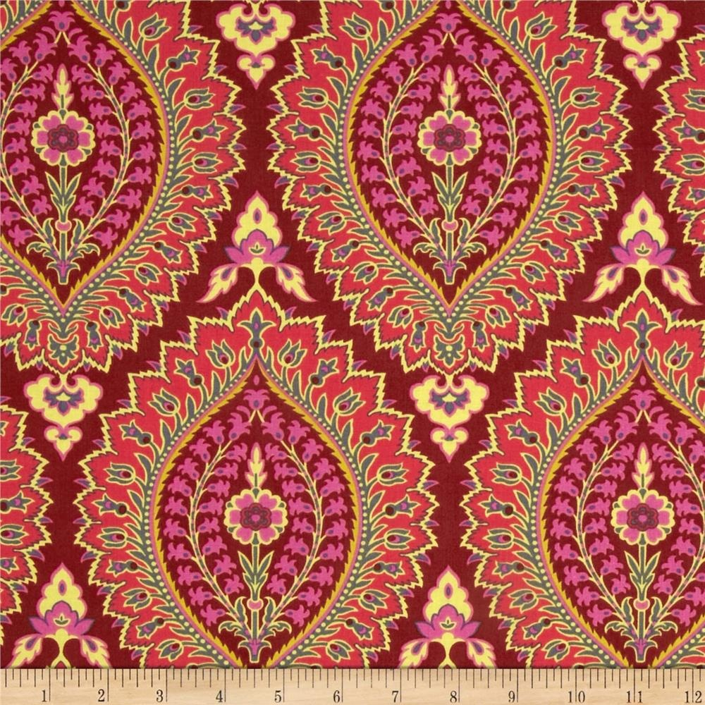 Ottoman fabrics for scadians part 3 pattern scale for Modern fabrics textiles